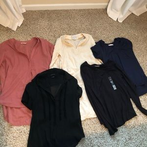 Lot of tops and tunics